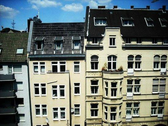 Die Wohngemeinschaft Hostel: View from room