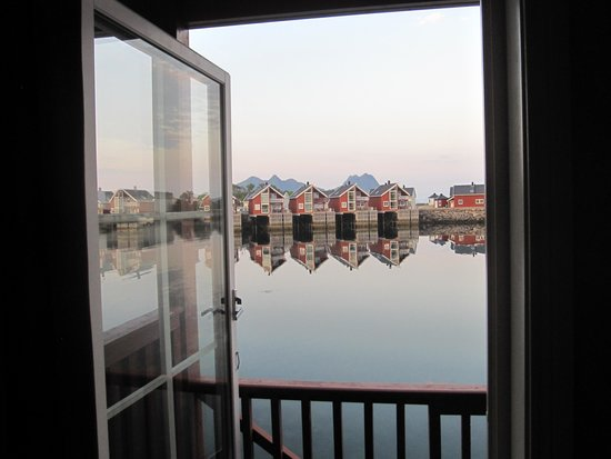 Scandic Svolvaer: Utsikt fra rommet