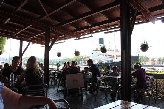 Vasa-Museum: Cafe-Terrasse