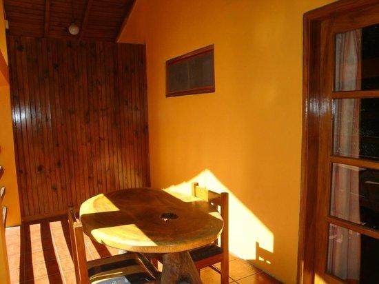 Hotel Santa Lucia Resort : este es un balcon de la habitación