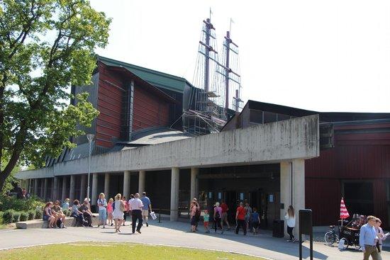 Vasa-Museum: Museum von außen
