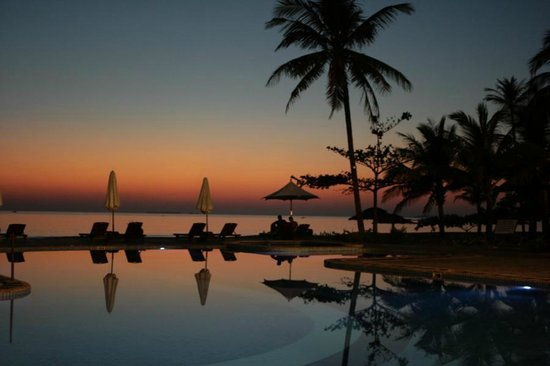 Sunny Paradise Resort: wenn der Tag zu Ende geht...