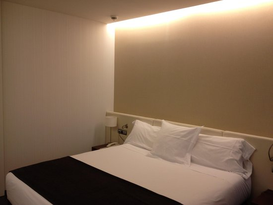 Hotel Diagonal Plaza: lit king size