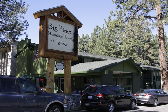 motel 39 s exterior picture of big pines mountain house of. Black Bedroom Furniture Sets. Home Design Ideas