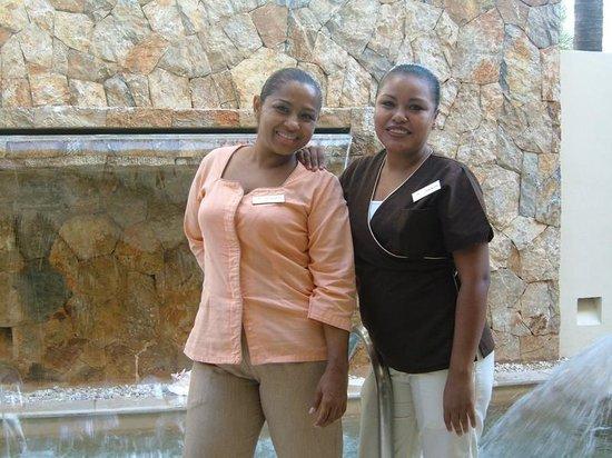 Sunscape Dorado Pacifico Ixtapa : Alexandrea & Guadalupe Spa Therapists