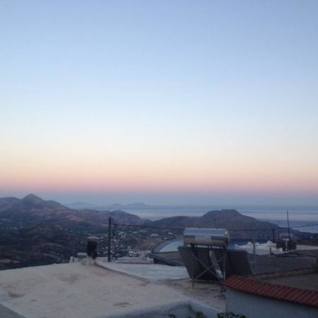 Elia Traditional Cretan Taverna : the view, and my iphone 4 camera doesnt do it justice.