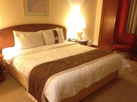 The Puteri Pacific Johor Bahru: Large room with comfy pillows