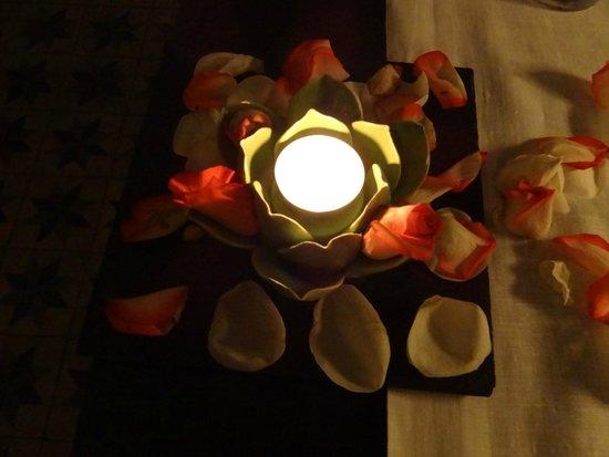 A Raposa: Tischdekoration