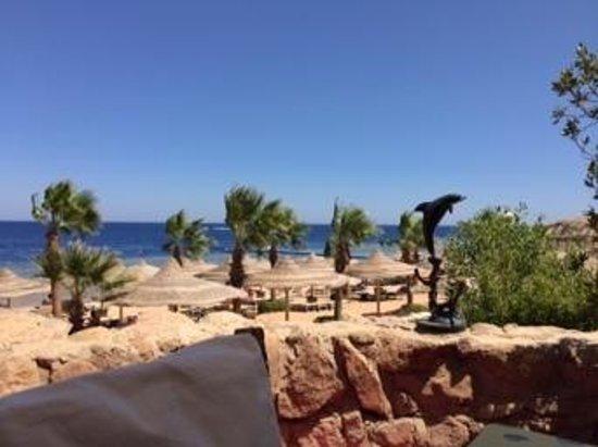 Savoy Sharm El Sheikh: view from seafood island