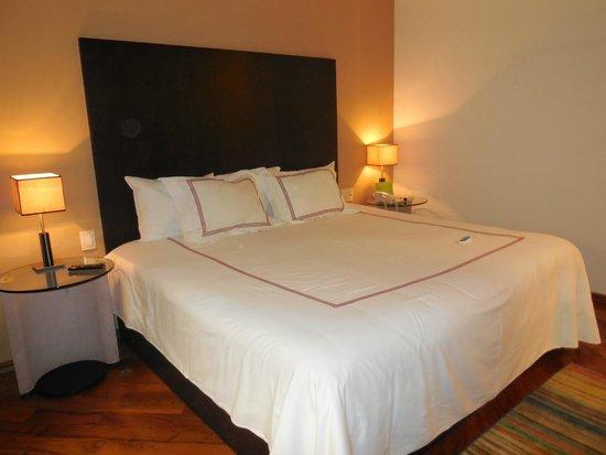 Hotel Santa Rita: una rica cama