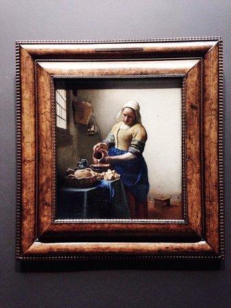 Rijksmuseum Amsterdam : The Milkmaid (Vermeer)