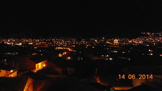 Casa Andina Standard Cusco San Blas: vista nocturna