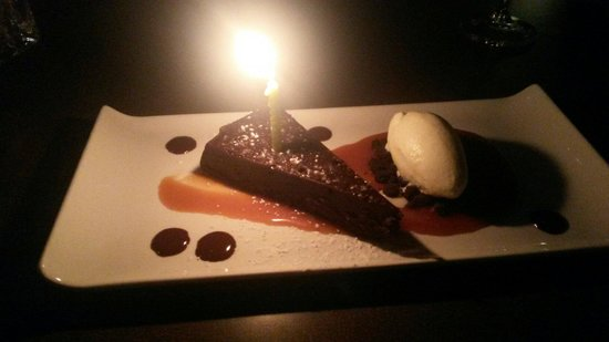 The Ancaster Mill : Flour-less chocolate cake