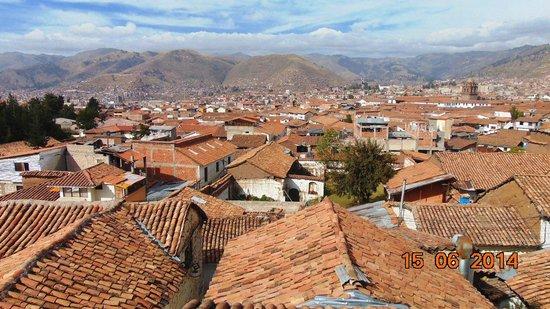 Casa Andina Standard Cusco San Blas: vista del cuarto a la ciudad