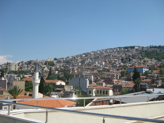 Hotel Baylan: View from terrace