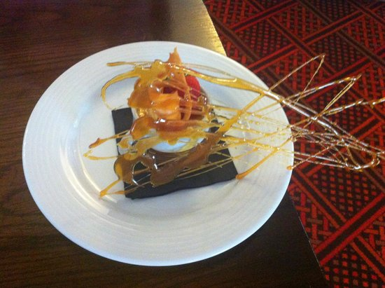 Crown Hotel: crème brulee