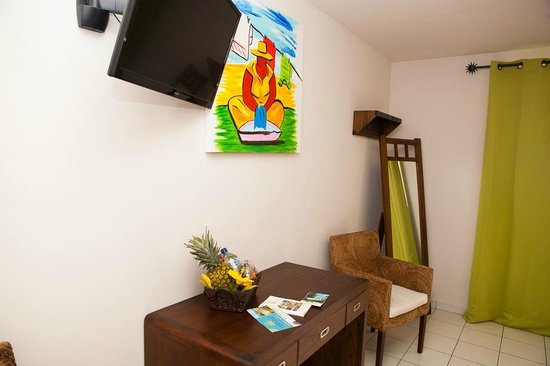 Hôtel Corail Résidence : Appartement chambre 1