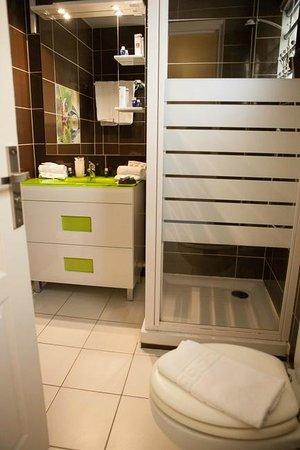 Hôtel Corail Residence: Salle de bain