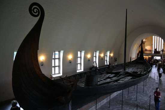 Viking Ship Museum : Nave di Oseberg