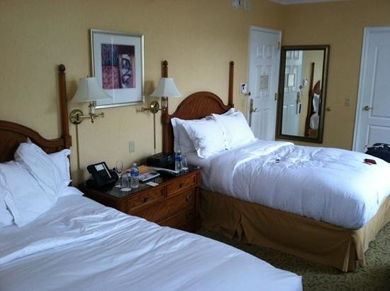 The Ritz-Carlton, Philadelphia : double room...