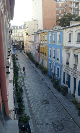 L'Hotel Particulier : View from 2nd floor