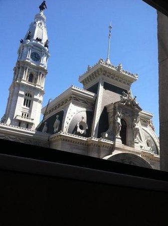 The Ritz-Carlton, Philadelphia: view rrom bathtub