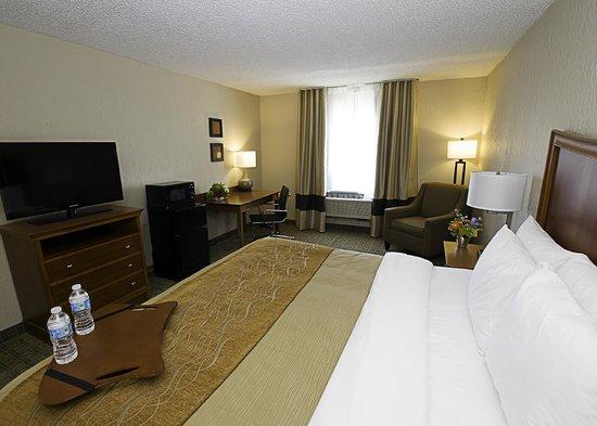 Comfort Inn St Louis - Westport: Business Class King Room