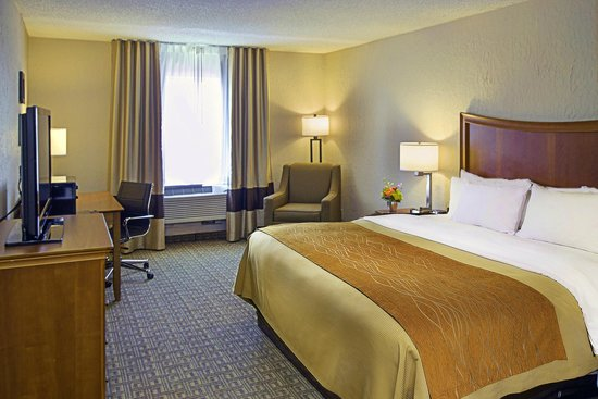 Comfort Inn Westport: King Room