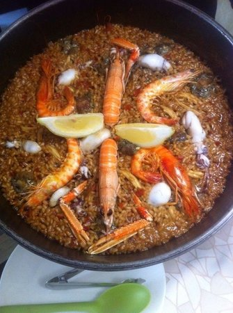 Pau Restaurant : El mejor arroz de mi vida!