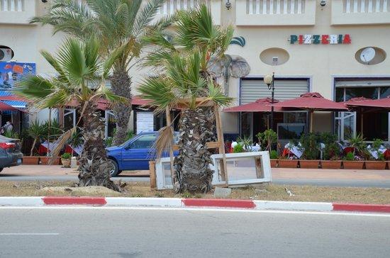 Saphir Palace & Spa : devant l'hôtel