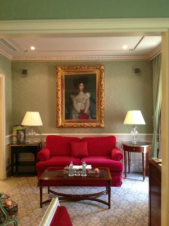 Hotel Sacher Wien: Sitting room