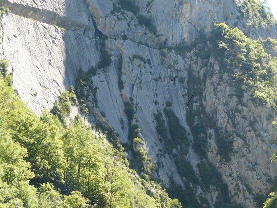 Gaia Aventure: escalade de La Major