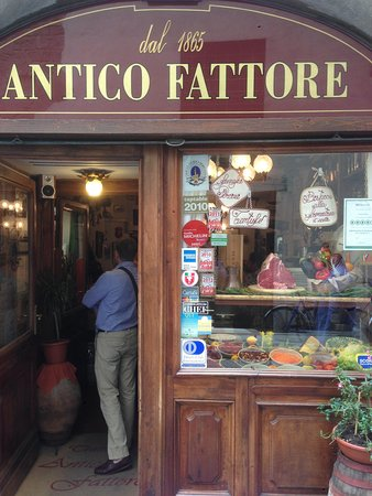 Antico Fattore: Вход