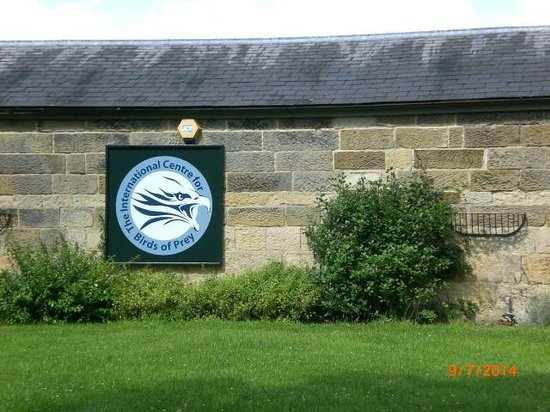 National Centre for Birds of Prey : the sign
