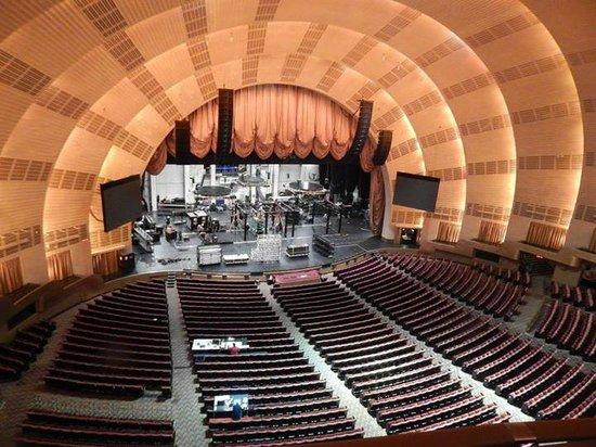 Radio City Music Hall: El teatro por dentro