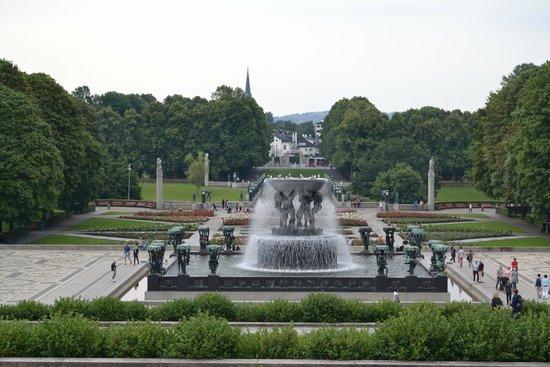 Museo de Vigeland: il parco centrale