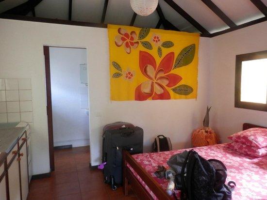 Bora Bora Ecolodge: La chambre