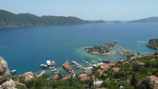 Kas Daily Boat Tours with Bermuda : kaleden liman ve bermuda teknesi