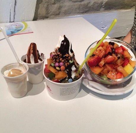 Yogurtlandia Strasbourg : yaourt glacé