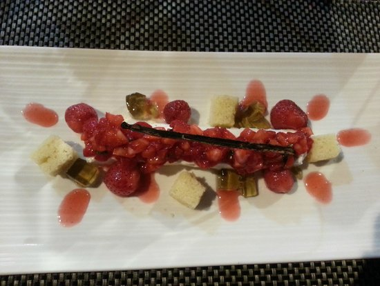 Le SEn'S : dessert fraises