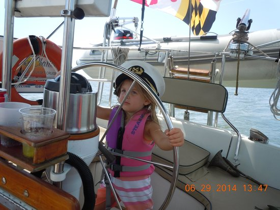 Blue Crab Chesapeake Charters : Capt. Morgam