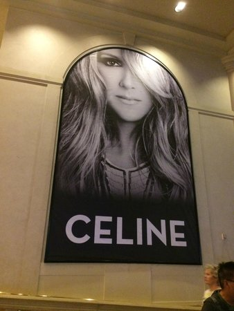 Celine Dion at the Colosseum at Caesars Palace: Celine Dion