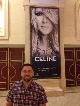 Celine Dion at the Colosseum at Caesars Palace: Eu e Celine