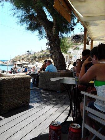 Cantina Del Mar: dal comodo divanetto...
