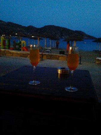 Cantina Del Mar: Bellini al tramonto
