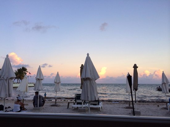 Southernmost Beach Cafe: View from our table