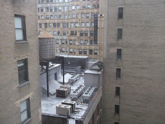 Stewart Hotel: view from my window