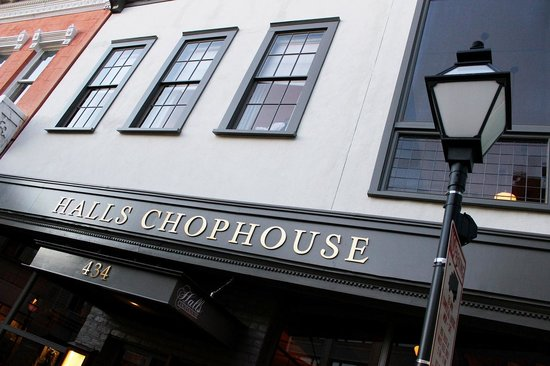Halls Chophouse: Make sure to stop by Halls