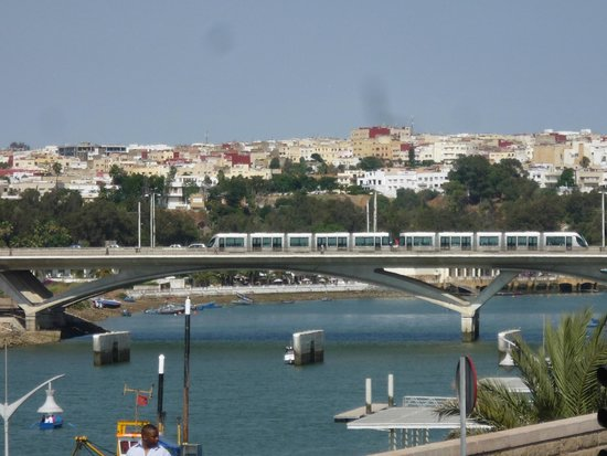 Golden Tulip Farah Rabat: View of Sale from Hotel roof