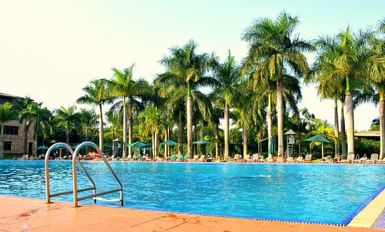 Speke Resort and Conference Centre: By the pool